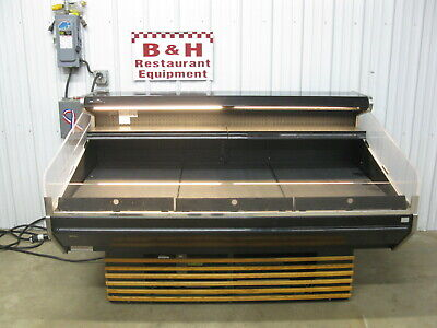 Barker Hsc6 Open Air Bakery Deli Sushi Produce Berry Display Case Refrigerator