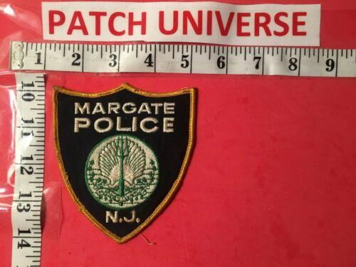 MARGATE NEW JERSEY  POLICE  SHOULDER PATCH   C110