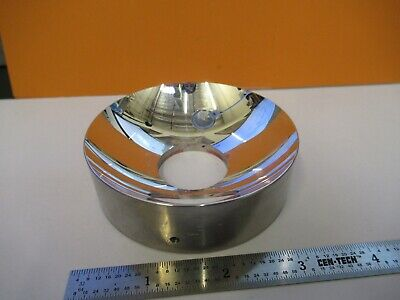 Optical Metal Heavy Concave Reflector Mirror Spectra Optics As Pictured G1-a-101
