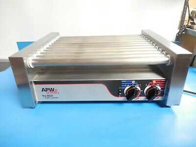 Apw-wyott Hrs-31tru-heat Non-stick Hot Dog Roller Grill