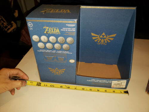 Zelda Breath of the Wild Collectible Coins Promotional Box - Promo Rare BOTW