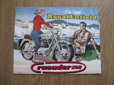Royal Enfield crusadar 250 brochure