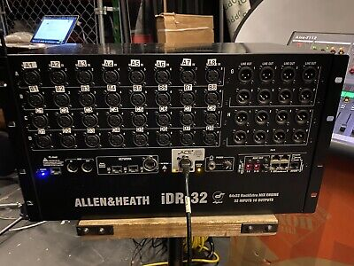 Allen & Heath IDR-32 64x32 RackExtra MIX ENGINE iLive digital mixer  W/ MMO Card