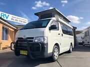 Frontline Toyota Hiace Campervan. Auto - Dual fuel - Low Kms... Penrith Penrith Area Preview