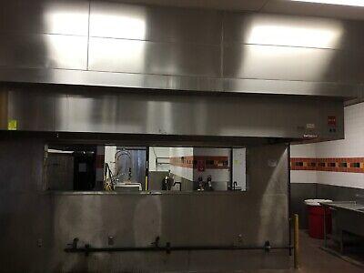 14ft. Type 1 Captive Aire Commercial Restaurant Kitchen Hood-exhaust Blowermu
