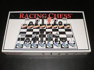 RACING CHESS SET BIG LEAGUE PROMOTIONS (2001 Chess)