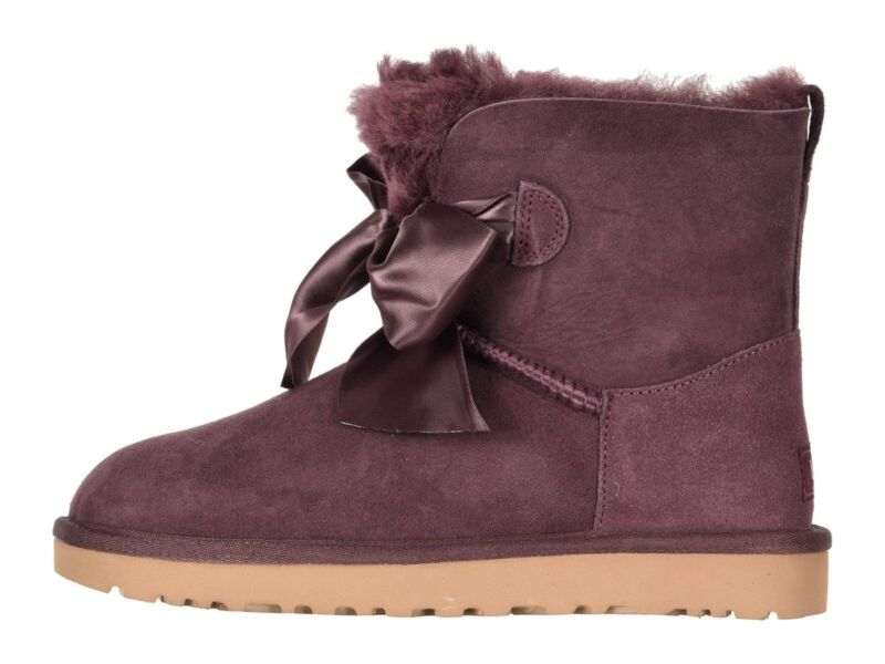 87f36909bc4 UGG GITA Bow Mini PORT Women's Twinface Boots 1098360   PolyBull.com