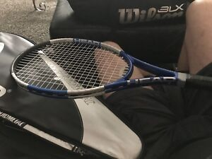 Tennis Racquets w case and bag