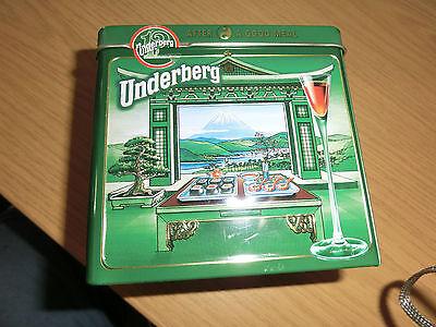 Blechdose Underberg 2006 Jahresdose Collection 2006 Edition, Sammlungsauflösung