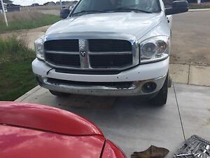 07 dodge 3500 front and rear bumpers