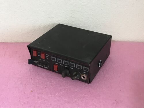 Federal Signal Touchmaster Delta / Light Controller Working