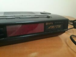 GPX Radio Am/Fm Alarm Clock Battery Back Up Model D508