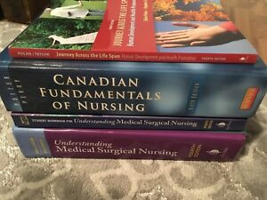 NSCC First Year Practical Nursing Textbooks