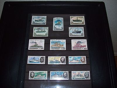 Lot of MNH Russian Stamps-Ships Boats