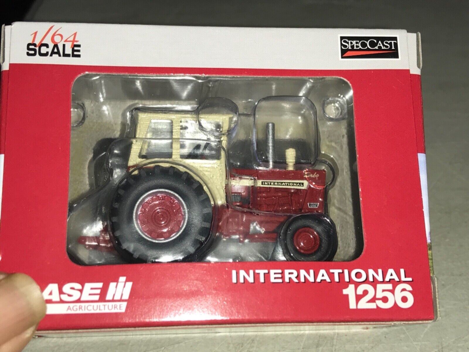 New SpecCast Case International Farmall 1256 Tractor 1:64 Scale 50 Years