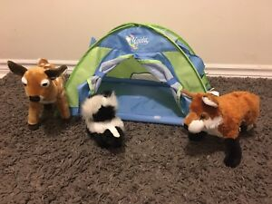 """18"""" doll camping tent"""