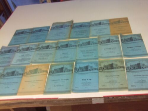 20 international correspondence school booklets from (1938-1956)