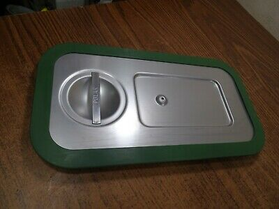 Polar Ware E12066 Steam Table Traypan Stainless Steel Lid Only 11.5 X6