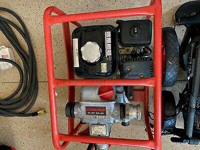 Multiquip Qp2th - 211 Gpm 2 Trash Pump W Honda Gx Engine