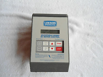 Leeson Adjustable Speed Ac Motor Control 174925.00