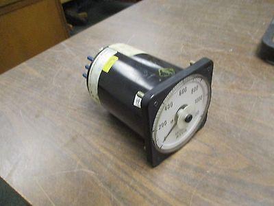 Asco Kilowatt Meter Bls-97708-079-d-r Range 0-1200kw Used