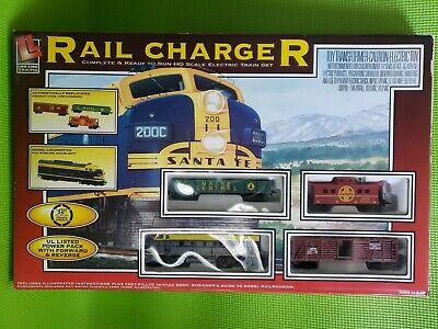 Bachman Life-like Rail Charger HO Electric Train Set