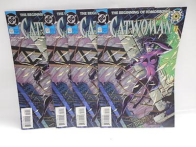 Catwoman DC Comic Book #0 X4 Batman Female Villain Jim Balent - Dc Comic Villains Female