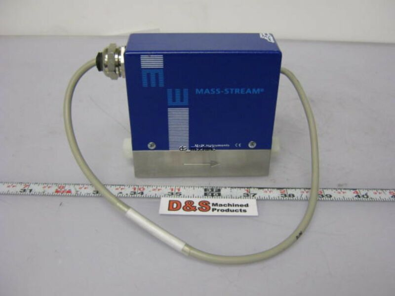 M+W Instruments D-6210 Mass Flow Meter 20 ln/min N2 Gas 24VDC 4-20mA Output