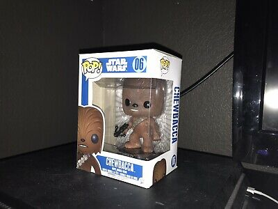 Funko Pop! Star Wars Chewbacca #06 Vinyl Bobble-Head Excellent Condition
