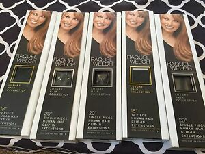Raquel Welch hair extensions X 3 Blackburn Whitehorse Area Preview