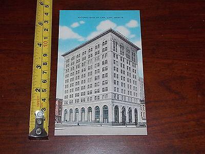 Postcard Old Vintage National Bank Of Lima Ohio