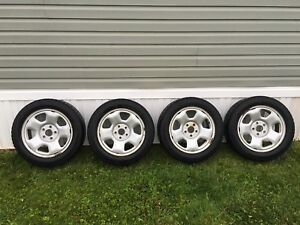 Acura winter wheels with Toyo winter tires 225/55R17