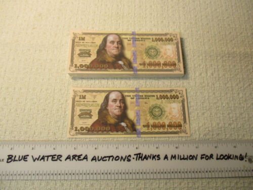 Package Pack of (100) One Million Dollar Bill Gospel Tract, $1,000,000 Tracts