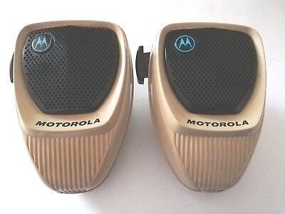 Lot Of 2 Motorola Hmn1061a Radio Microphones For Astro Digital Spectra Maratrac