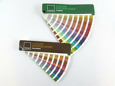 Pantone 4-color Process Guide Set Coateduncoated Cmyk Values
