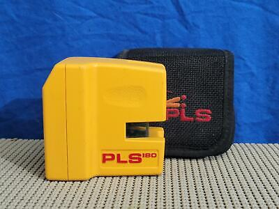 Pls 180 Pacific Laser Systems Red Cross Line Laser Level W Pouch