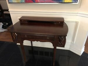 Arts and Crafts Antique Secretary Desk or Hall Table