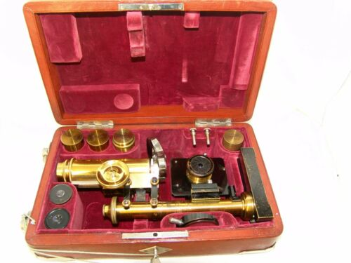 E.Leitz Wetzlar,antique MICROSCOPE № 99243
