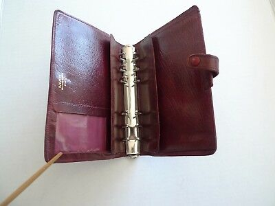 Filofax- Leather Planner - Made In England - Classic- Vintage - Model 4clf 78