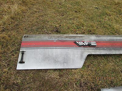 White 4-175 Tractor Hood Side Panel Right Side Panel