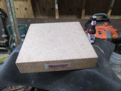 Starrett Crystal Pink Granite Surface Plate,18x18x4,Grade A~NICE😎😎😎#ST7.23.21
