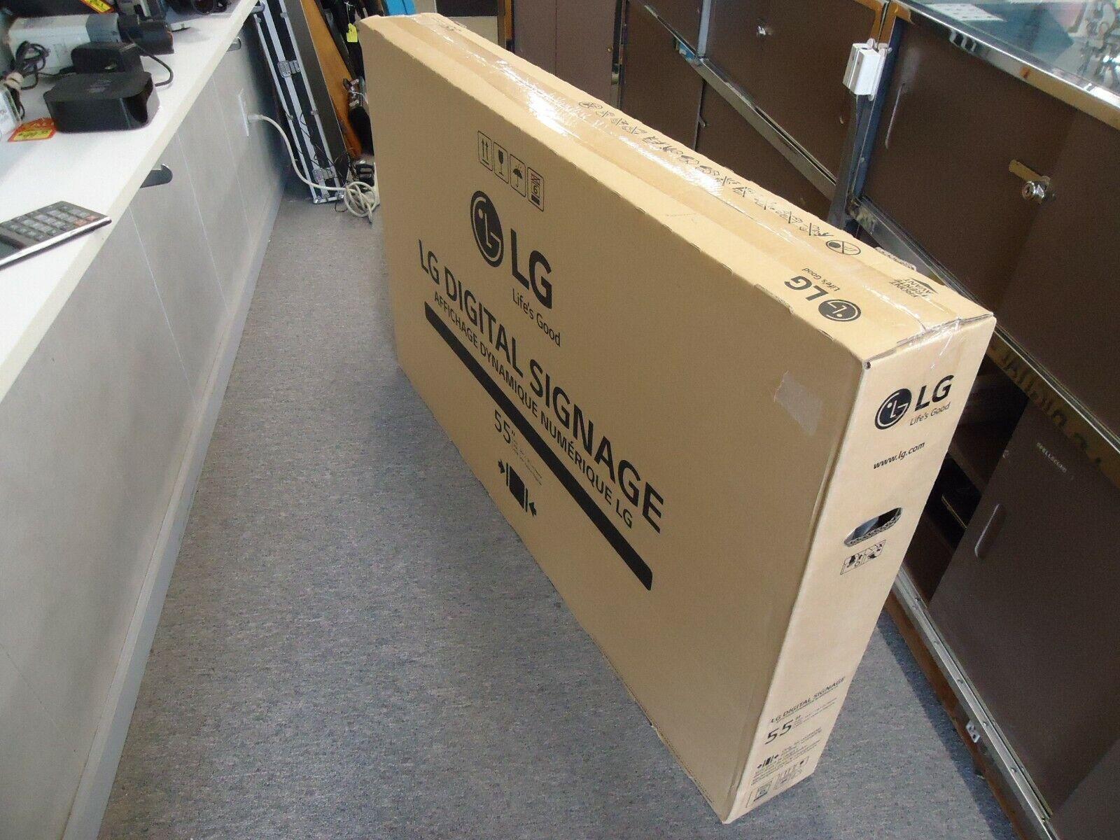 LG Electronics LG-55SM5B Commercial Signage LED-Lit  Monitor NEW UNOPENED