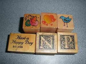 Have a Happy Day, Balloons, Heart, Bird, N & P Rubber Stamps Albany Creek Brisbane North East Preview