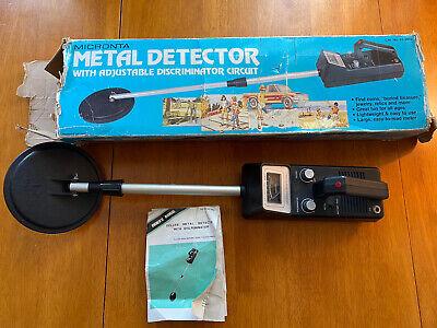 Vintage Radio Shack Micronta Metal Detector Tested But Not Sure It Works