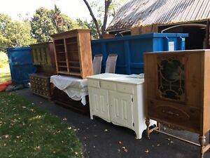 Hutch furniture antique
