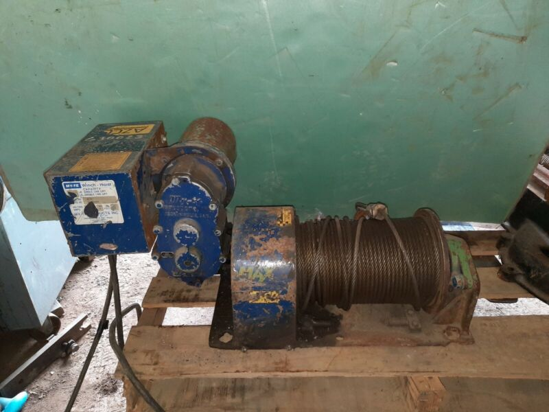 MY-TE AC36B  Standard Electric Winch-Hoist 3000 Lbs Lift 6000 double