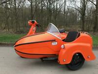 Royal Alloy GT200 Watsonian Sidecar Outfit