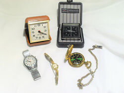 Vintage Watches,Pocket watch Old Elgin Watch Lot Of 5,Plus Other  Collection