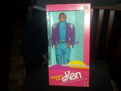 Vintage 1989 Barbie Western Fun Ken Doll NRFB!
