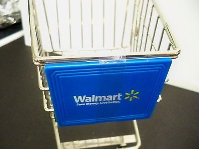 Minature Walmart Grocery Shopping Cart 10 1 4 Inches